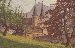 Switzerland Ernst Schlatter Hofkirchen Gegen Die Rigi