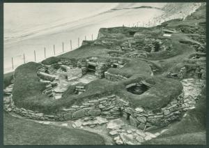 Prehistoric Village SKARA BRAE Orkney Scotland Neolithic Postcard