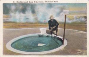 Handkerchief Pool Yellowstone National Park