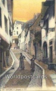 Jerzual Dinan, France, Carte, Unused