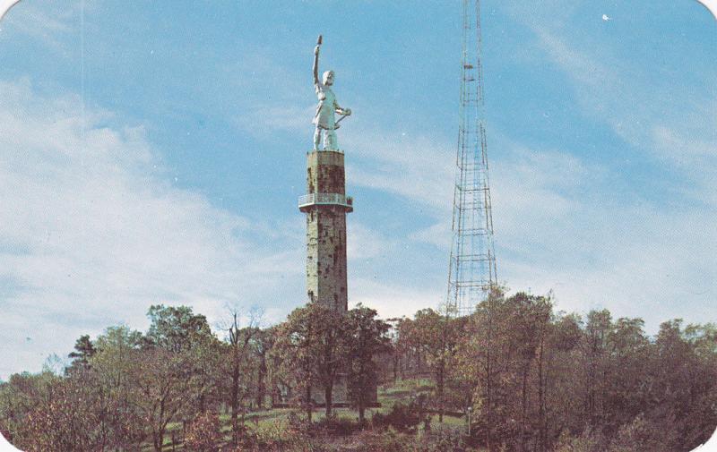 BIRMINGHAM , Alabama , 50-60s; Vulcan , Red Mountain