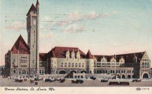 ST. LOUIS, Missouri, PU-1909; Union Station
