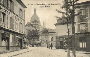 CPA Paris 18e (Dep. 75) Saint-Pierre de Montmartre, Sacré-Coeur (59470)