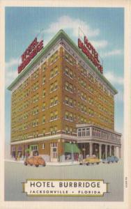 Florida Jacksonville Hotel Burbridge Curteich