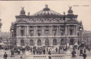 France Paris L'Opera 1918