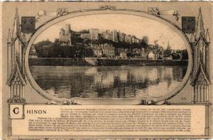CPA  Chinon - Le Cháteau (monument historique )...    (229551)