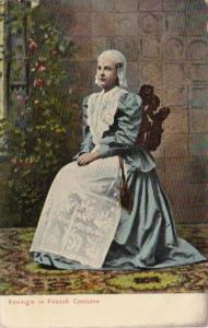Germany Koeningin In Friesch Costume
