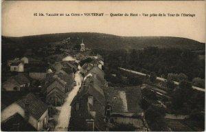 CPA Vallée de la CURE - Voutenay - Quartier du Haut (148269)