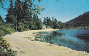 Cranberry Lake, POWELL RIVER, British Columbia, Canada, 40-60´s