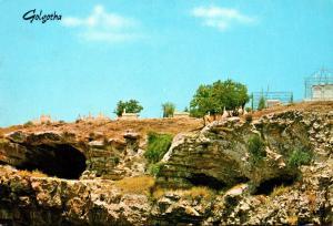 Israel Jerusalem Golgotha Hill The Skull Place