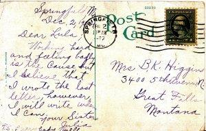 Family History Postcard - Higgins - Great Falls - Montana - Ref 1203A