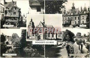 Modern Postcard Nogent le Roi E and The House of the 15th The castle Eure cas...