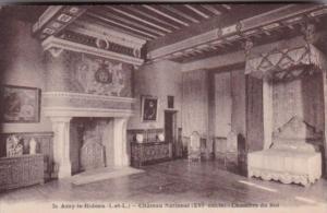 France Azay-le-Rideau Le Chateau National Chambre du Roi