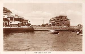 Yemen Aden, Landing Stage, Boats