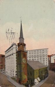 Massachusetts Boston Old South Church 1913
