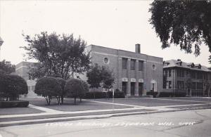 Wisconsin Edgerton School Buildings Real Photo