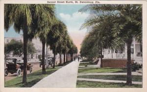 Florida St Petersburg Second Street North 1920