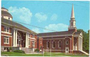 First Baptist Church, Milan, Tennessee, TN, Chrome