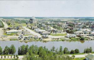 AMOS, Quebec, Canada, PU-1964; Aerial View