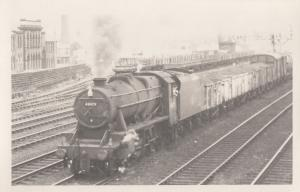 48473 Train At Leeds Station in 1966 Vintage Railway Photo