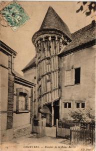 CPA CHARTRES - Escalier de la Reine Berthe (279824)