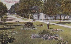 High School Campus Greenville Michigan 1910