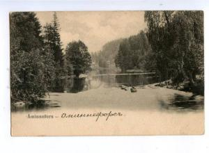 172922 FINLAND Aminnefors Vintage postcard