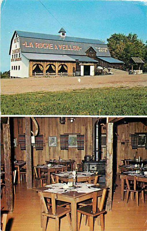 La Roche a Veillon, Saint Jean Port-Joli  P.Q.Quebec Canada Chrome