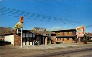 Cheyenne Motel Colorado Springs, CO, USA Postcard Post Cards Old Vintage Anti...