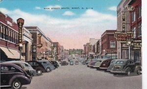 North Dakota Minot Main Street Saunders Drug Store sk6979