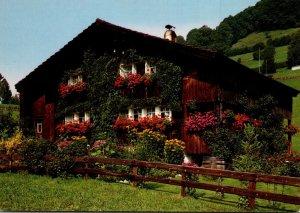 Switzerland Zurich Toggenburger Bauernhaus