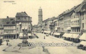 Marktplatz Gottingen Germany Unused