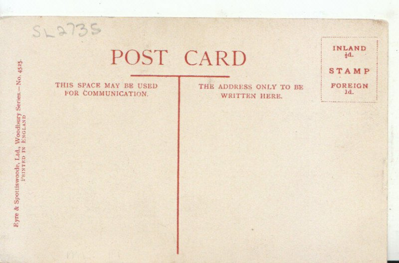Art Postcard - Diana of The Uplands [Tate Gallery] - Ref 19471A