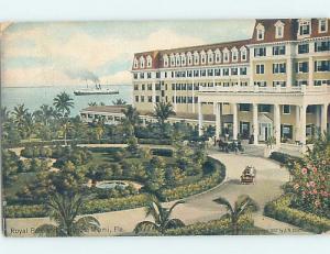 Divided-Back ROYAL PALM HOTEL Miami Florida FL G2267