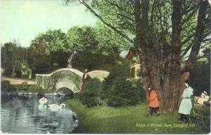 Bridge In White's Park, Concord, New Hampshire, 1900-1910s