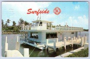 1962 KEY WEST POSTMARK*SURFSIDE 6 AS SEEN ON TV*MIAMI FLORIDA*FL*HOUSEBOAT