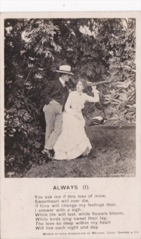 Bamforth Romantic Couple No 1 1907