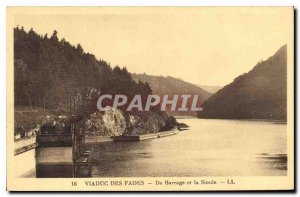 Postcard From Old Fades Viaduct Dam and Sioul