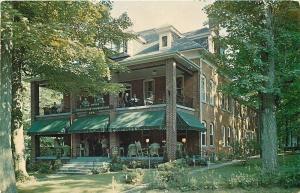 Chautauqua New York~United Presbyterian USA Headquarters~1960 Postcard