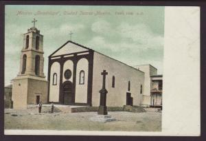Mission Guadalupe,Ciudad Juarez,Mexico Postcard