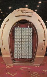 LAS VEGAS , Nevada , 50-60s ; $1,000,000 Dollars , Horseshoe Club