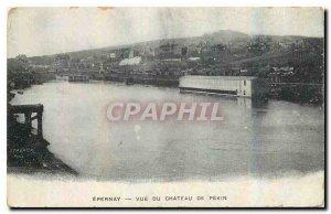 Old Postcard Epernay View of Chateau de Pekin