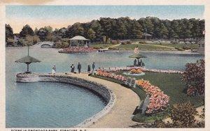 SYRACUSE, New York, 1900-10s; Scene in Onondaga Park
