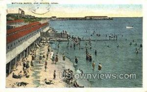 Bathing Beach Oak Bluffs MA 1925