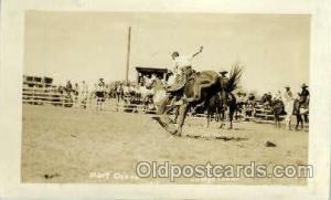 Mert Osnass on High Tower, Real Photo Western Postcard Postcards  Mert Osnass...
