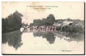 Around Tours - St Avertin - Landscape and Bridge Cher - - Old Postcard