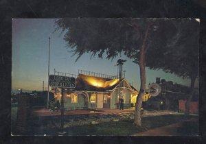 LOMITA CALIFORNIA RAILROAD DEPOT TRAIN STATION MUSEUM POSTCARD AT NIGHT