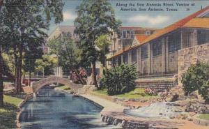 Along The San Antonio River Venice Of America San Antonio Texas