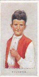 Wills Vintage Cigarette Card Children Of All Nations 1925 No 9 Bulgaria