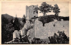 Ruine Neideck Frank Schweiz Burg Germany Unused